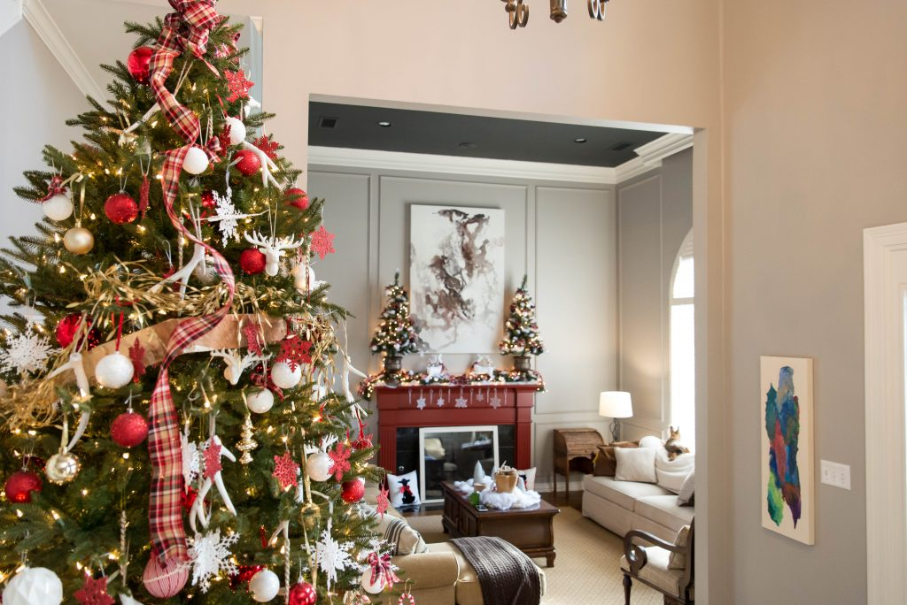 Christmas House Tour - Home Decor and Home Improvement DIY ...